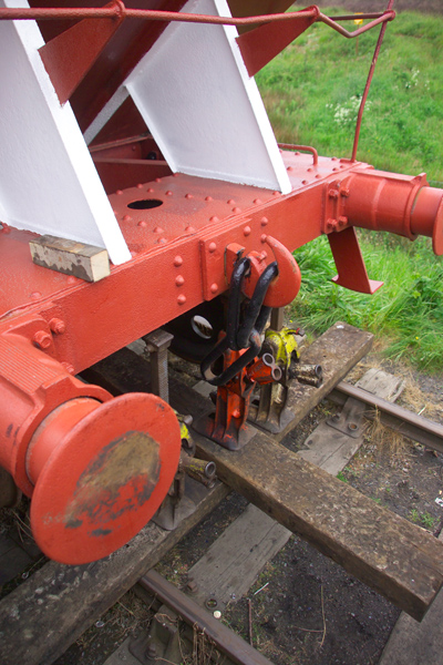 Picture of Derailed coal wagon, Bowes Railway, Springwell, Gateshead - Free Pictures - FreeFoto.com