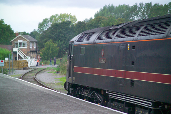 Picture of Wensleydale Railway Special NENTA railtour 25th September 2004 - Free Pictures - FreeFoto.com