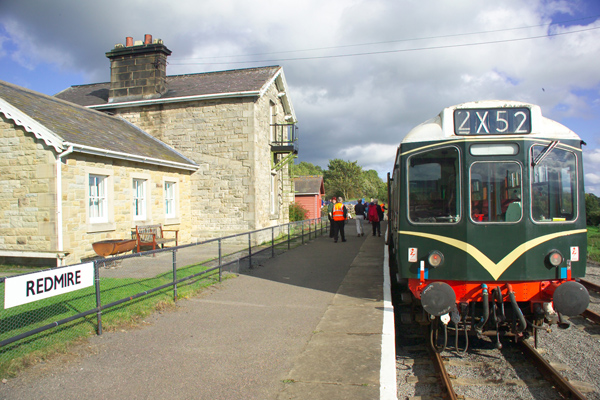 Picture of Redmire Station, Wensleydale Railway - Free Pictures - FreeFoto.com