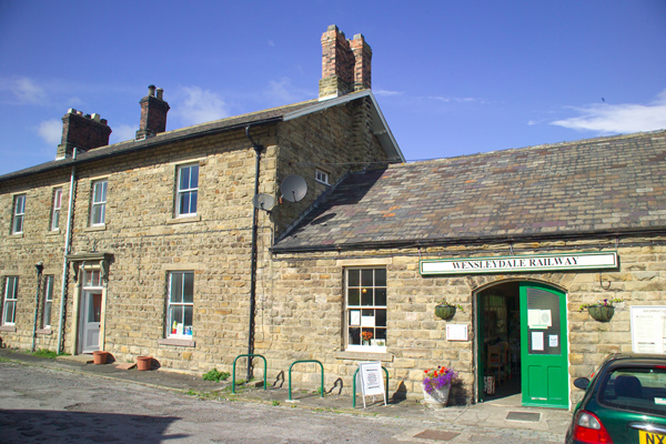 Picture of Leyburn Station, Wensleydale Railway - Free Pictures - FreeFoto.com