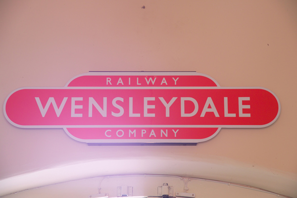 Picture of Shop, Leyburn Station, Wensleydale Railway - Free Pictures - FreeFoto.com