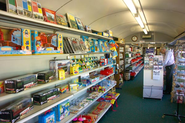 Picture of Railway Shop, Leeming Bar - Free Pictures - FreeFoto.com