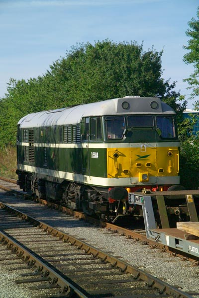 Picture of Class 31 31166 (D5584) Wensleydale Railway - Free Pictures - FreeFoto.com