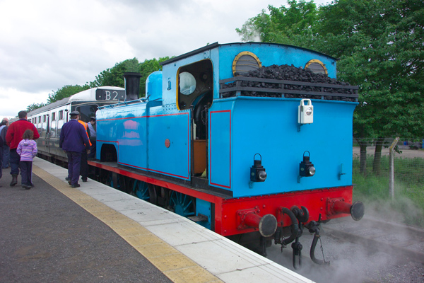 Picture of Day out with Thomas at the Wensleydale Railway - Free Pictures - FreeFoto.com