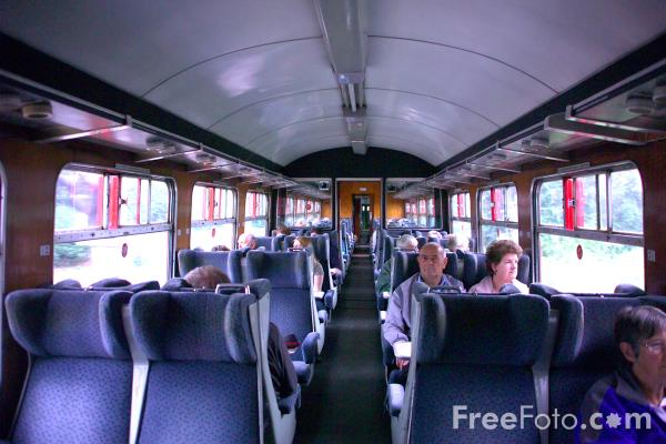 Picture of BR Mark 2 Carriage, Wensleydale Railway - Free Pictures - FreeFoto.com
