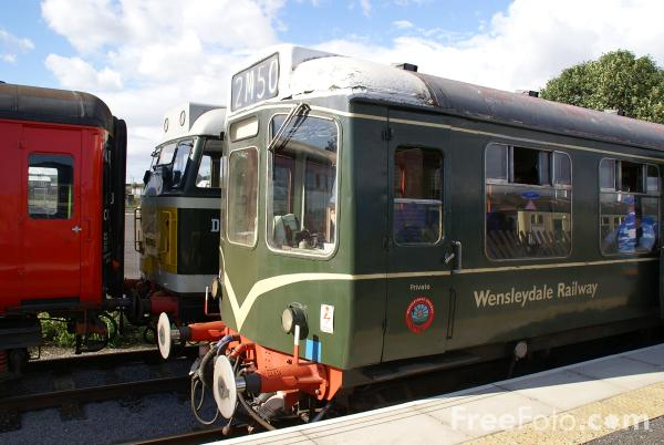 Picture of Wensleydale Railway, Leeming Bar Station - Free Pictures - FreeFoto.com