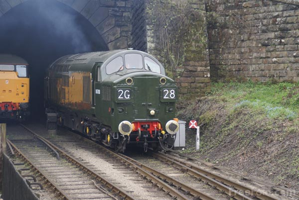 Picture of Class 37 BR Co-Co D6700 (37350) - Free Pictures - FreeFoto.com