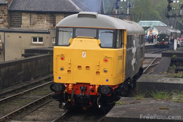 Picture of Class 31 31108 - Free Pictures - FreeFoto.com