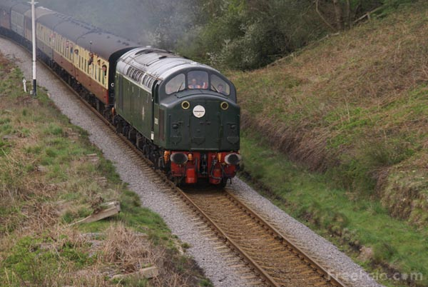 Picture of Class 40 D200 during the 2007 Diesel Gala - Free Pictures - FreeFoto.com