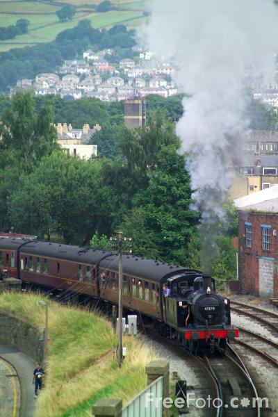 Picture of LMS class 3F 0-6-0T No. 47279 - Free Pictures - FreeFoto.com