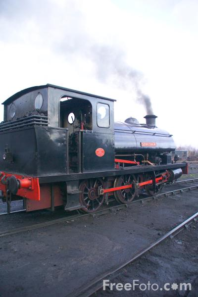 Picture of 3513 0-6-0ST Stagshaw, Marley Hill Shed - Free Pictures - FreeFoto.com