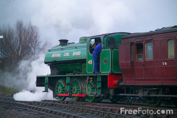 Picture of 1943 built RSH No. 49 0-6-0ST - Free Pictures - FreeFoto.com