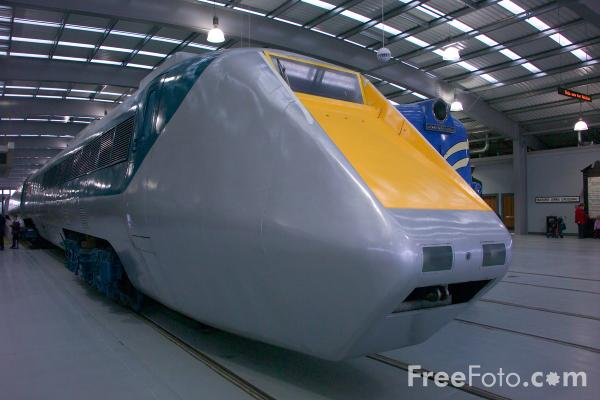 Picture of APT-E Advanced Passenger Train, Locomotion, Shildon - Free Pictures - FreeFoto.com