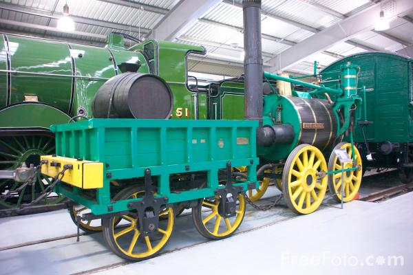 Picture of Locomotion, The National Railway Museum, Shildon - Free Pictures - FreeFoto.com