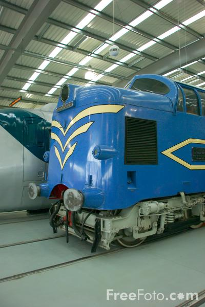 Picture of Prototype DELTIC, Locomotion, The National Railway Museum, Shildon - Free Pictures - FreeFoto.com