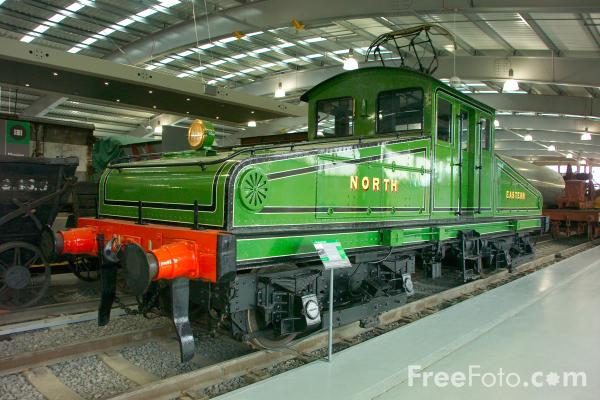 Picture of North Eastern Railway Class ES1 No. 1, Locomotion, The National Railway Museum, Shildon - Free Pictures - FreeFoto.com