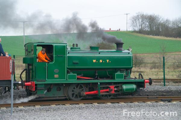 Picture of Andrew Barclay 2361 WST, The National Railway Museum, Shildon - Free Pictures - FreeFoto.com