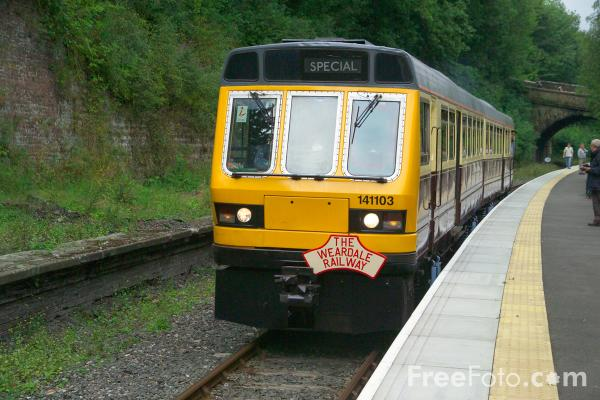 Picture of Weardale Railway - Free Pictures - FreeFoto.com