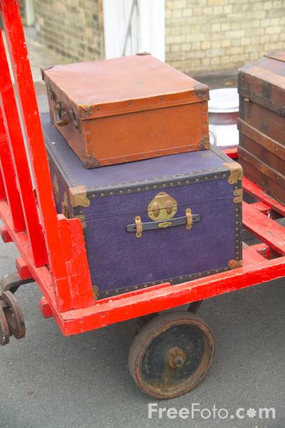 Picture of Luggage Trolley - Free Pictures - FreeFoto.com