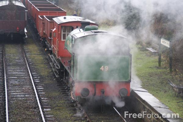Picture of Robert Stephenson 0-6-0ST No 49 - Free Pictures - FreeFoto.com
