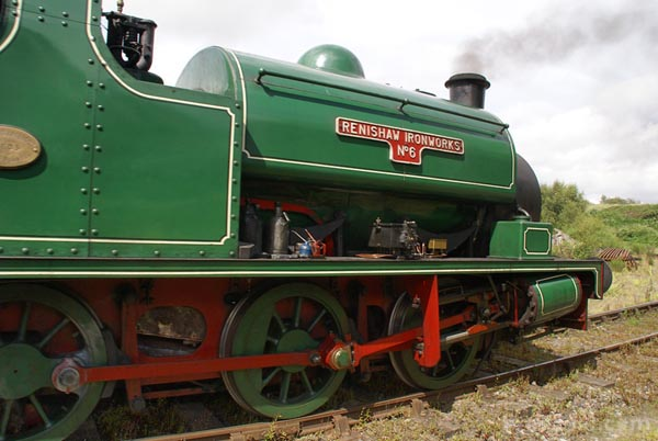 Picture of 0-6-0ST Renishaw Ironworks No 6 - Free Pictures - FreeFoto.com