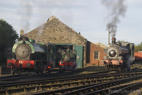 Picture of Tanfield Railway Legends of Industry Autumn Gala Event - Free Pictures - FreeFoto.com