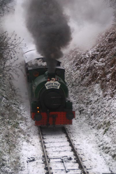 Picture of Tanfield Railway Santa Special - Free Pictures - FreeFoto.com