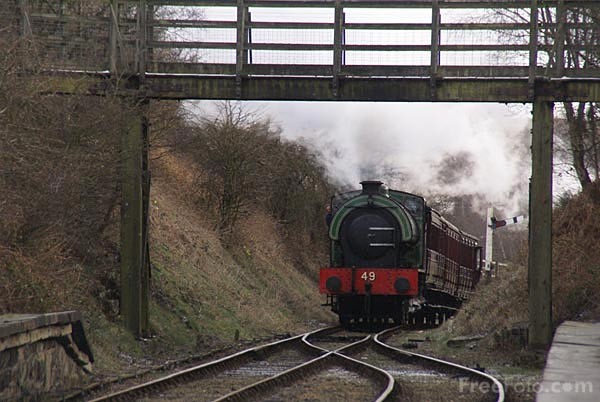 Picture of RSH No 49 0-6-0ST - Free Pictures - FreeFoto.com
