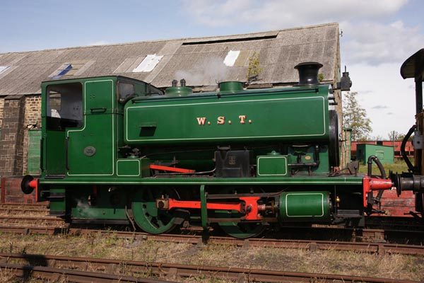 Picture of 0-4-0 Saddle Tank W S T on the Bowes Railway - Free Pictures - FreeFoto.com