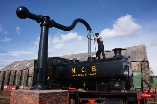 Picture of 0-4-0 Saddle Tank No 22 on the Bowes Railway - Free Pictures - FreeFoto.com