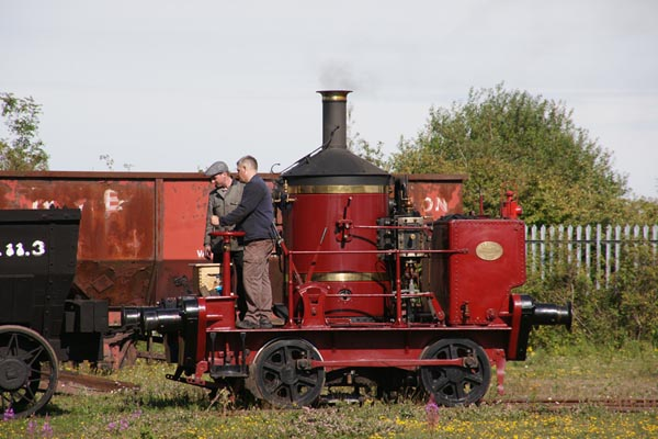 Picture of Coffee Pot No.1 visiting the Bowes Railway - Free Pictures - FreeFoto.com
