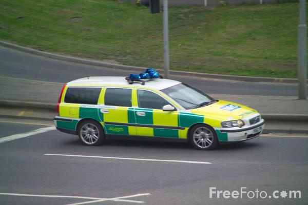 Picture of Paramedic Rapid Response Unit - Free Pictures - FreeFoto.com