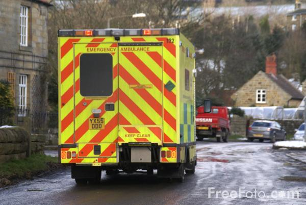 Picture of Yorkshire Ambulance Service NHS Trust Ambulance - Free Pictures - FreeFoto.com