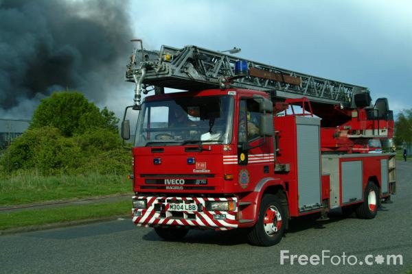 Tyne and Wear Metropolitan Fire Brigade Turntable Ladder