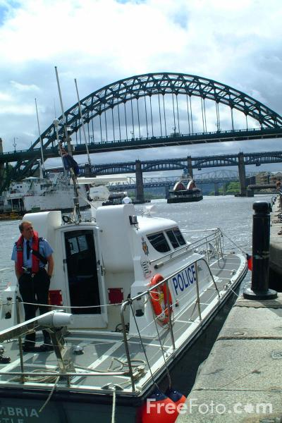 Picture of Northumbria Police Marine Unit - Free Pictures - FreeFoto.com