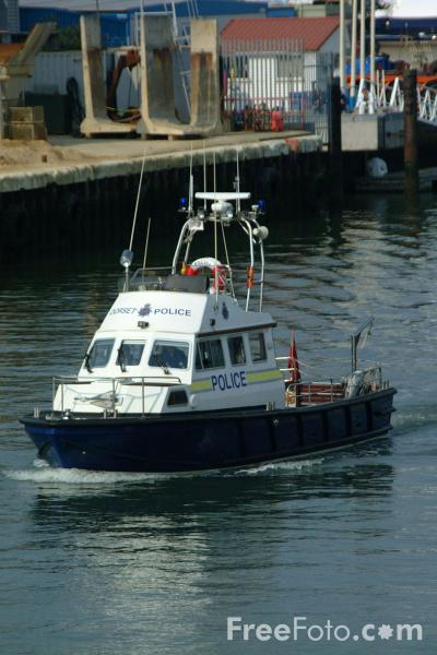 Picture of Dorset Marine Police, Poole - Free Pictures - FreeFoto.com