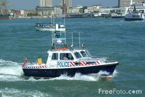 Picture of Marine Police, Portsmouth - Free Pictures - FreeFoto.com