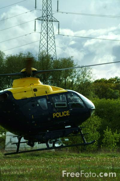Picture of North East Air Support Unit Helicopter G-NESV Eurocopter EC135T - Free Pictures - FreeFoto.com