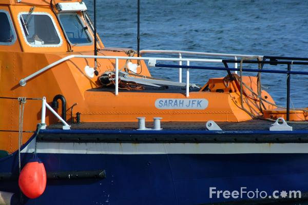 Picture of RNLI Lifeboat - Free Pictures - FreeFoto.com