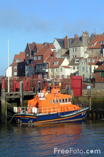 Picture of RNLI Lifeboat, Teesmouth - Free Pictures - FreeFoto.com