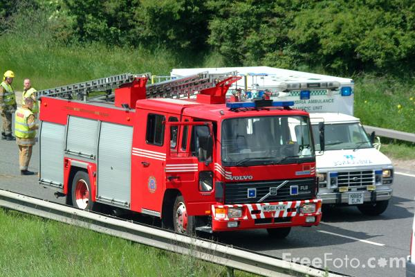 Picture of Fire Engines - Free Pictures - FreeFoto.com