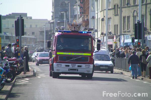 Picture of Fire Engine - Free Pictures - FreeFoto.com