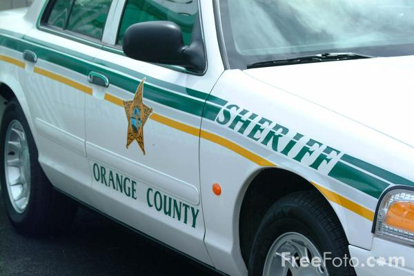 Picture of Orange County Sheriff Police Car - Free Pictures - FreeFoto.com
