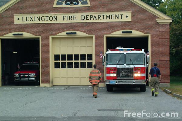Picture of Central Fire Station, Bedford Street, Lexington - Free Pictures - FreeFoto.com