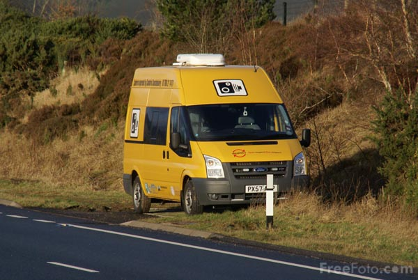 Picture of Mobile Speed Camera - Free Pictures - FreeFoto.com
