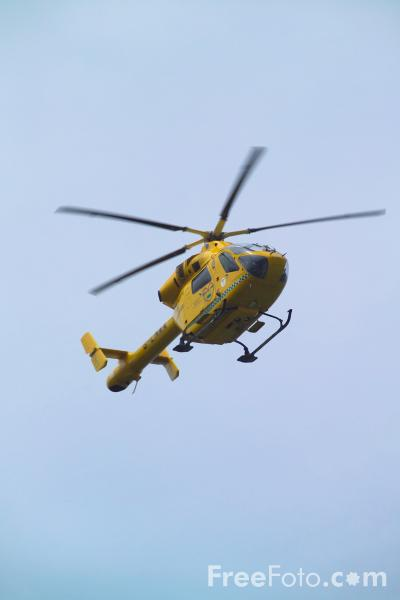 Picture of Lincolnshire and Nottinghamshire Air Ambulance - Free Pictures - FreeFoto.com