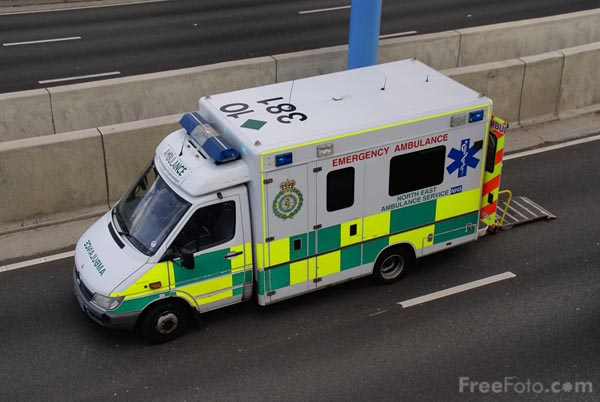 Picture of Ambulance - Free Pictures - FreeFoto.com