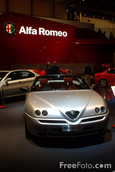 Picture of Alfa Spider, Birmingham International Motor Show 2002 - Free Pictures - FreeFoto.com