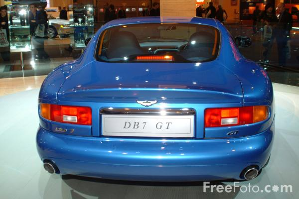 Picture of Aston Martin DB7 GT, Birmingham International Motor Show 2002 - Free Pictures - FreeFoto.com
