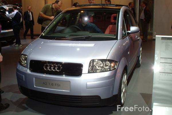 Picture of Audi A2 1.6 FSI, Birmingham International Motor Show 2002 - Free Pictures - FreeFoto.com